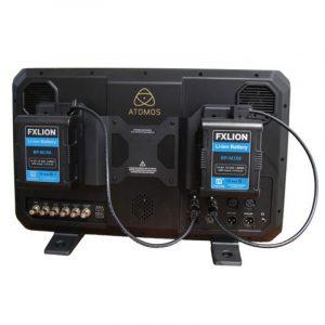 FXLION 148wh Square battery kit 2 batteries +2 plates +2 cables