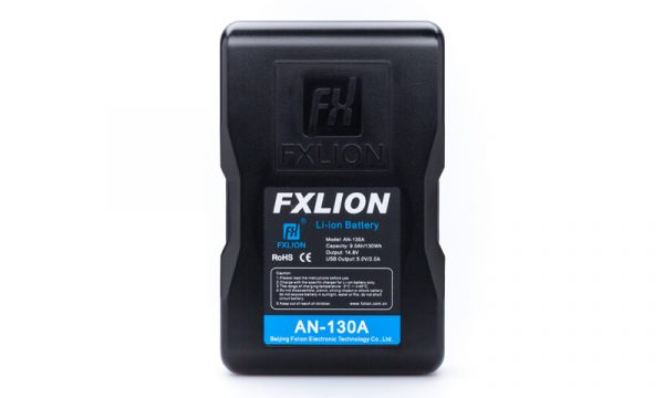 FXLION 130Wh Gold Mount Battery Cool Black Series