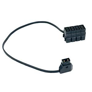 """FXLION Quad D-Tap Output Cable (17.7"""")"""