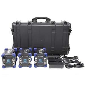 Fxlion Three Mega Batteries Kit with DC-AC Inverter