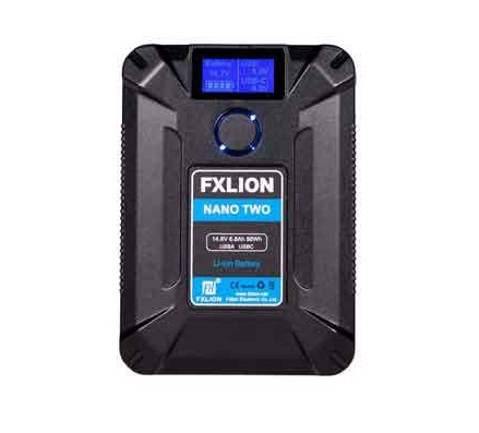 FXLION Nano Two Ultra Compact 98Wh V-Mount Battery