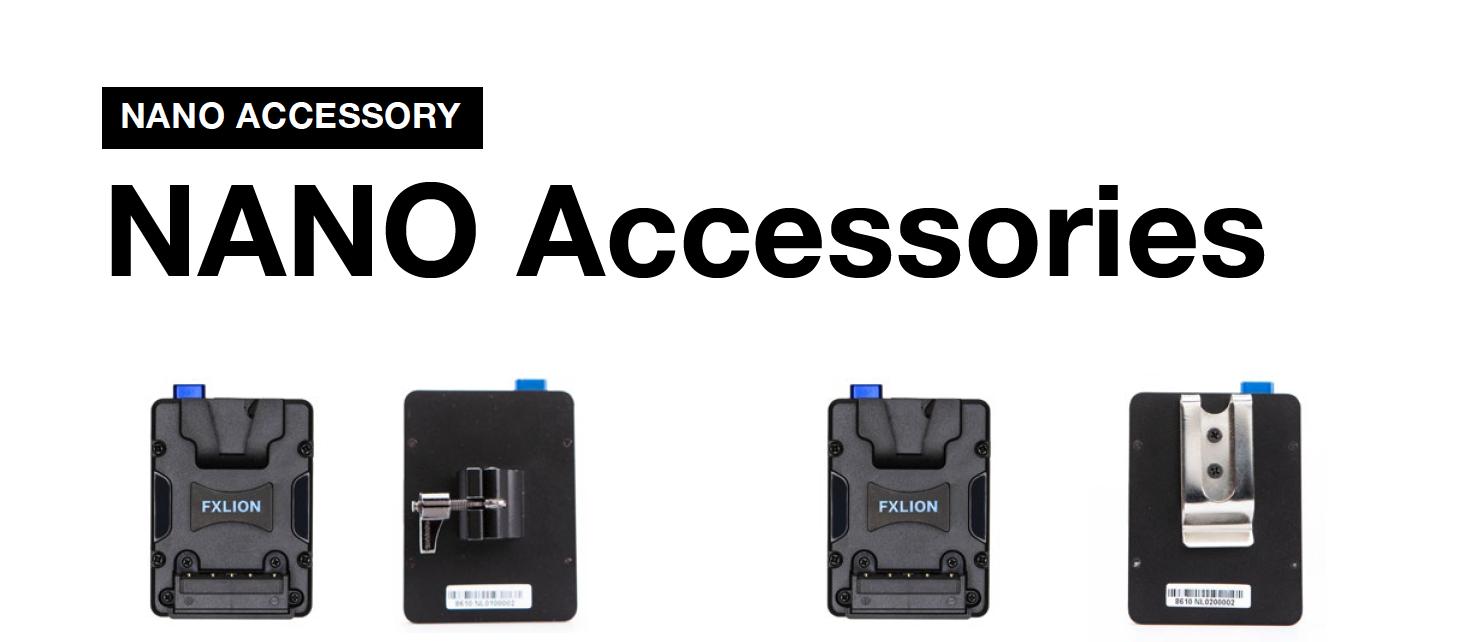 Illustrative image of Fxlion Nano Battery accessories